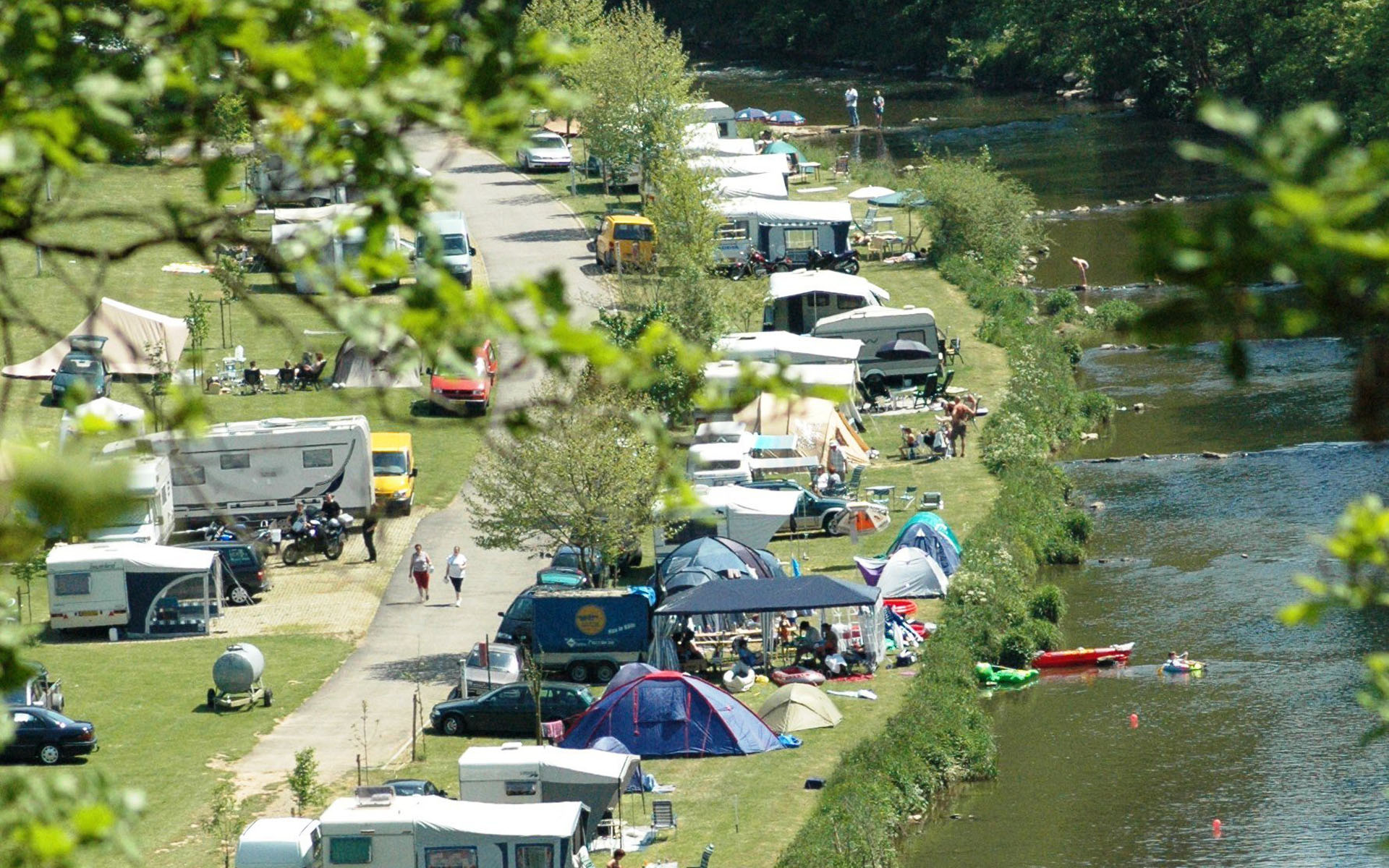 Campings Luxemburg stad