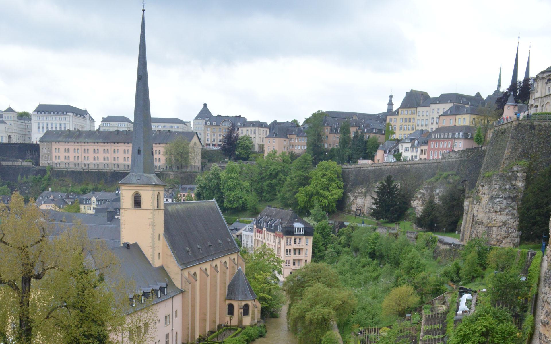 Winkelen Luxemburg stad