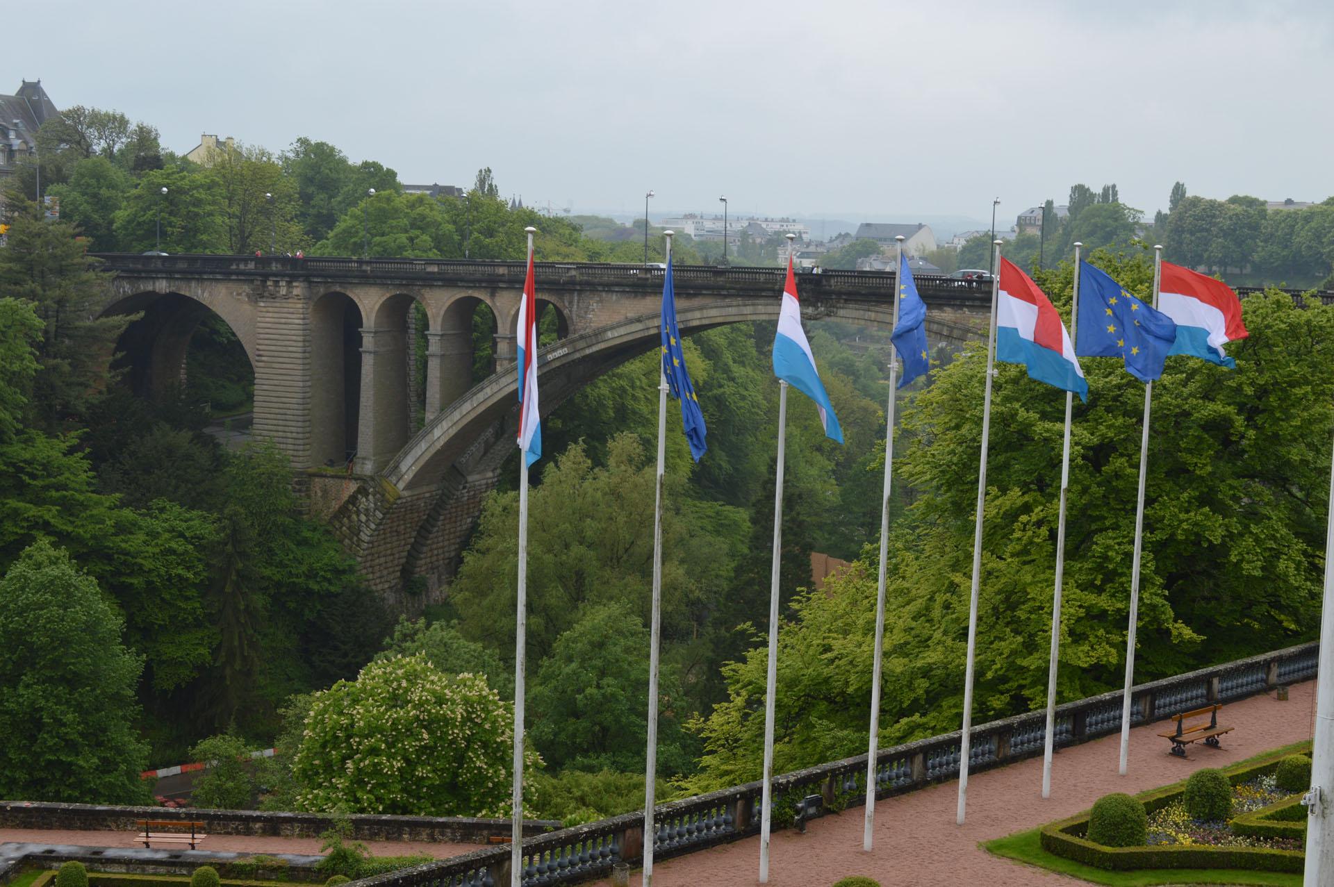 Pont Adolphe Luxemburg stad